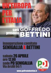INAUGURAZIONE COMITATO SENIGALLIA PER BETTINI